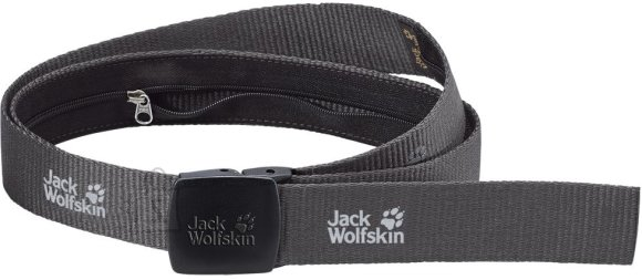 Jack Wolfskin Secret Belt Wide Dk.Steel rahavöö