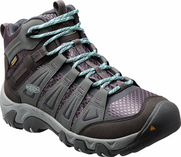 Keen Oakridge MID WP Gray/Shark matkasaapad