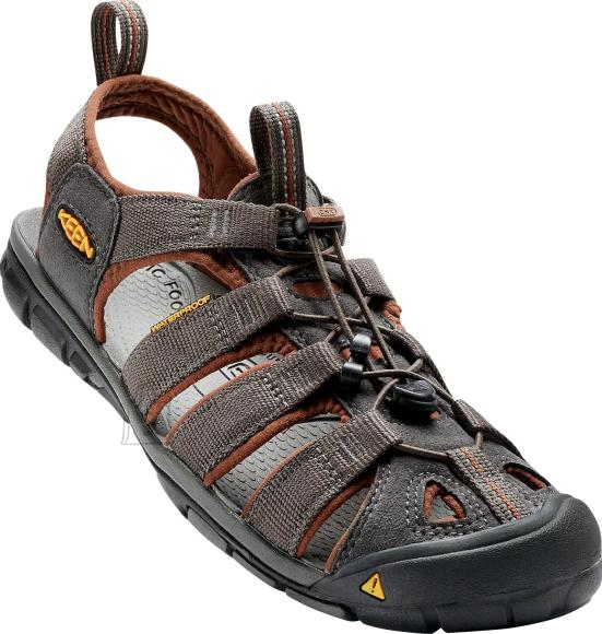 Keen Clearwater CNX Raven/Tor.Shell sandaalid