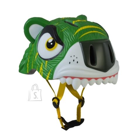 CrazySafety Green Tiger laste rattakiiver 49-55cm
