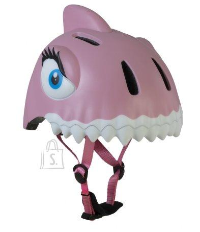 CrazySafety Pink Shark laste rattakiiver 49-55 cm