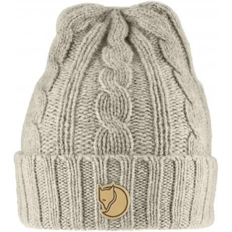 Fjällräven Braided Knit Chalk White talvemüts