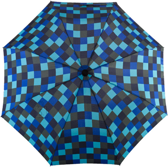 Dainty siniseruuduline vihmavari
