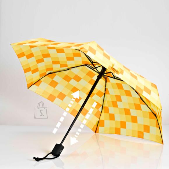 Dainty kollaseruuduline vihmavari