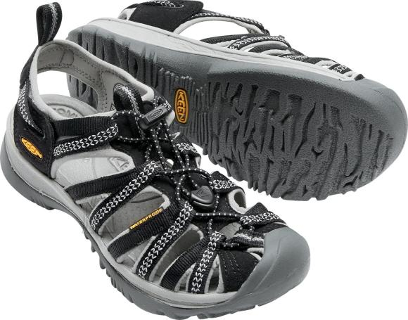 Keen Whisper Black/Neutral Gray sandaalid naistele