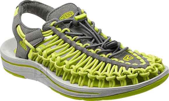 Keen Uneek Gargoyle/Bright Chartreuse sandaalid