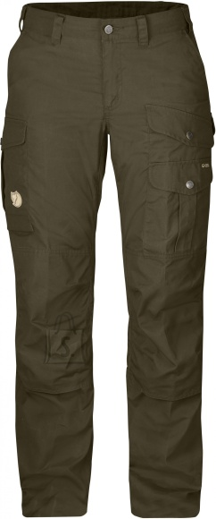Fjällräven Barents Pro W Regular Dark Olive naiste püksid