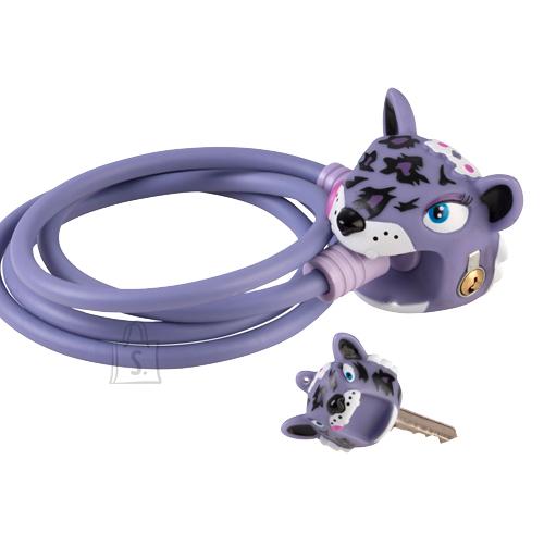 CrazySafety Purple Leopard rattalukk