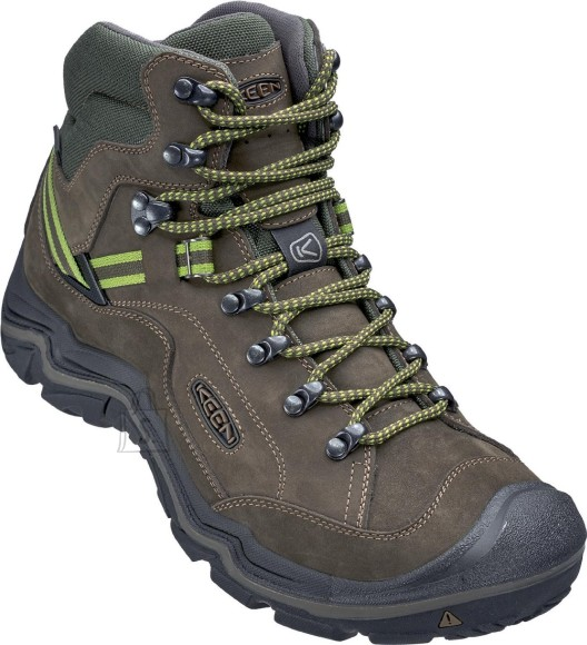 Keen GALLEO MID WP BLACK/GREENERY 46 - GALLEO MID WP meestele