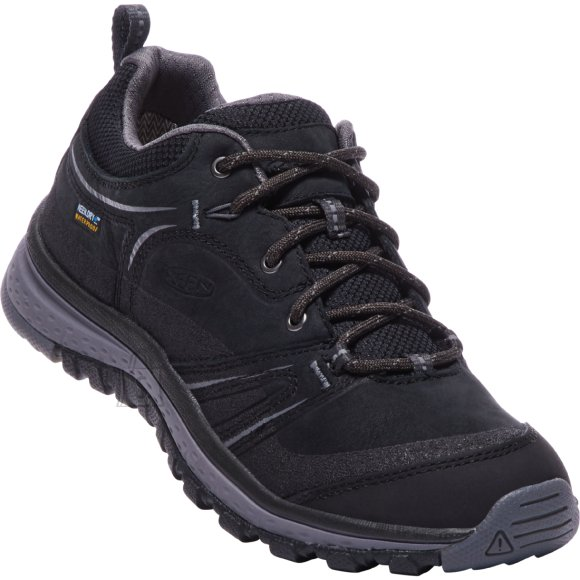 Keen Terradora Leather WP Black/Steel Gray - TERRADORA LEATHER WP naistele