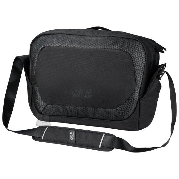 Jack Wolfskin Power On Bag must sülearvutikott - POWER ON