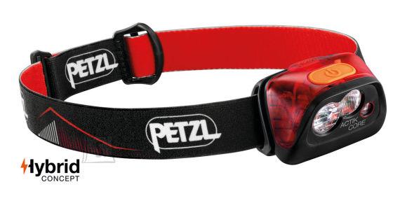 Petzl Actik Core 450lm punane pealamp - ACTIK® CORE 450lm