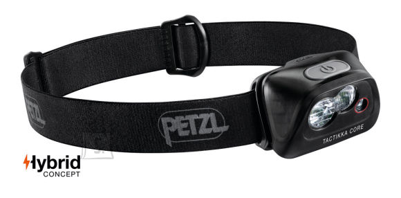 Petzl Tactikka Core must pealamp - TACTIKKA® CORE 450lm