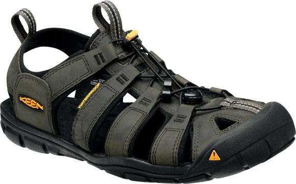 Keen CLEARWATER CNX LEATHER MAGNET/BLACK 47,5 - CLEARWATER CNX nahast meestele