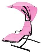 Hecht Lamamis-kiiktool päikesevarjuga Dream Pink