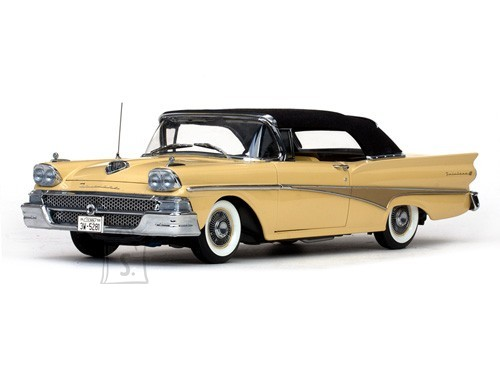 1958 FORD FAIRLANE 500 CLOSED CONVERTIBLE