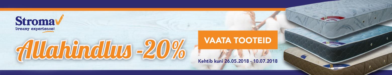 Stroma madratsite allahindlus -20%