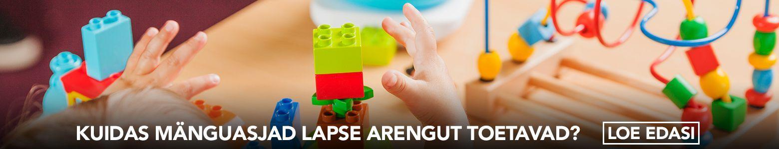 Kuidas mänguasjad lapse arengut toetavad