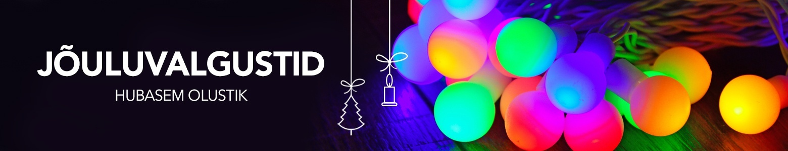 Jõuluvalgustid- hubasem olustik