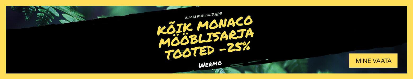 Wermo kõik Monaco mööblisarja tooted -25%