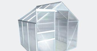 Klaaskasvuhooned