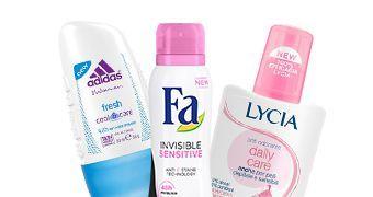 Naiste deodorandid
