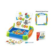Huamei Toys väikelapse tahvel magnetiga