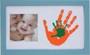 pildiraam + värv käejälje jaoks