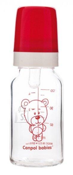 Canpol klaasist lutipudel 120 ml, 3 k+