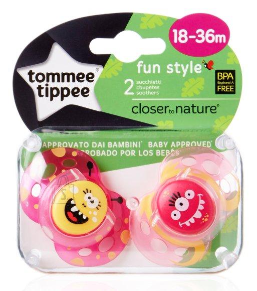 Tommee Tippee Fun Style silikoonist lutt tüdrukule 18-36 k 2 tk