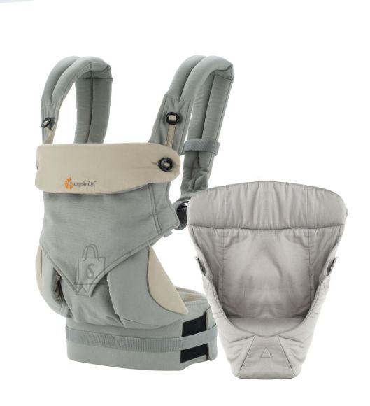 Ergobaby kõhukott + sisu Bundle of Joy - Gray