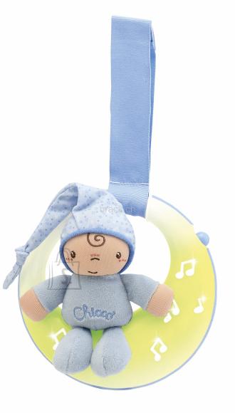 Chicco mänguasi voodile Head ööd, Kuu, poisile