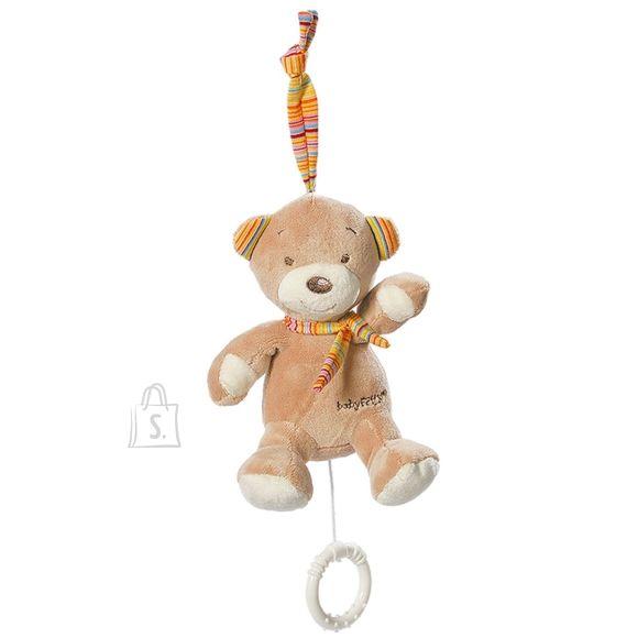 Babyfehn pehme mängukaru Teddy muusikaga