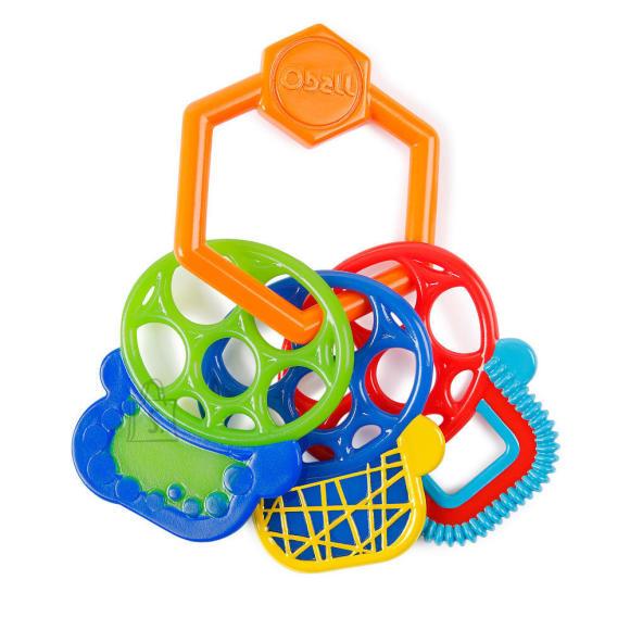 Kids II närimislelu Grasp & Teethe Keys, 3-36 kuud