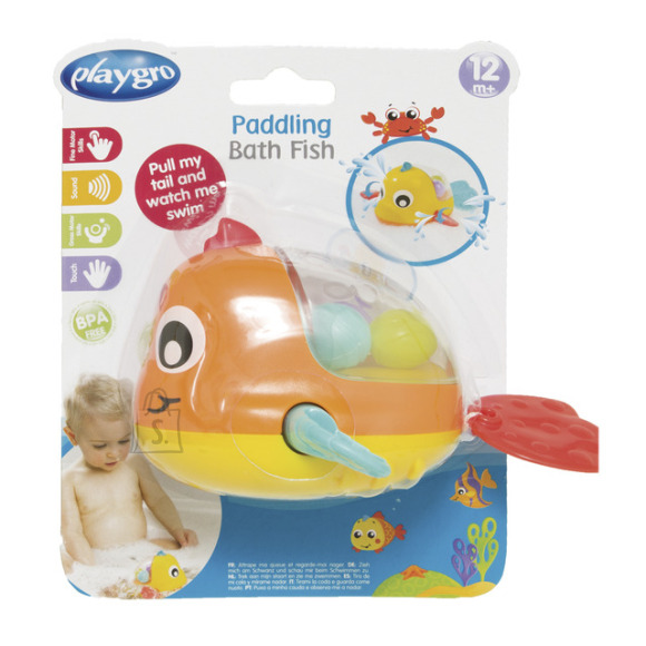 PLAYGRO vannimänguasi - kala, 4086377