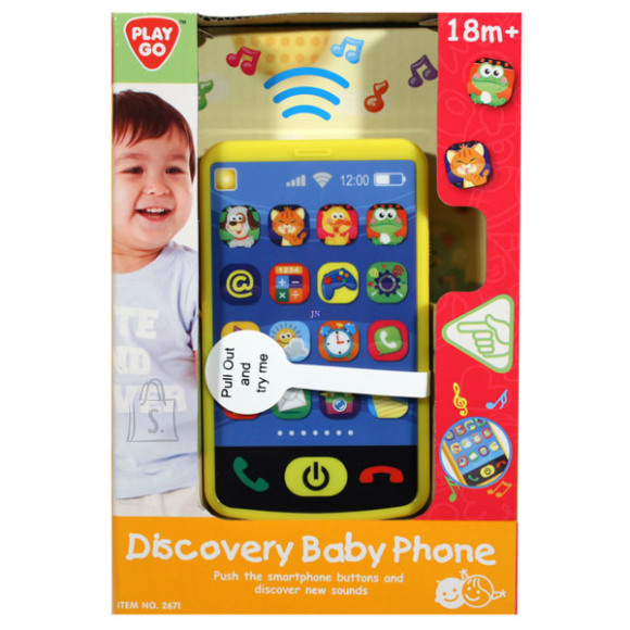 Playgo PLAYGO INFANT&TODDLER telefon Discovery B/O, 2671