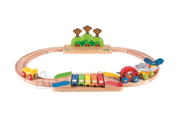 Hape mänguraudtee Jungle Train