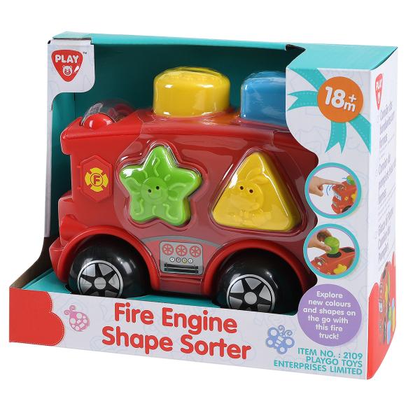 Playgo PLAYGO INFANT&TODDLER kujundisorteerija tuletõrjeauto, 2109