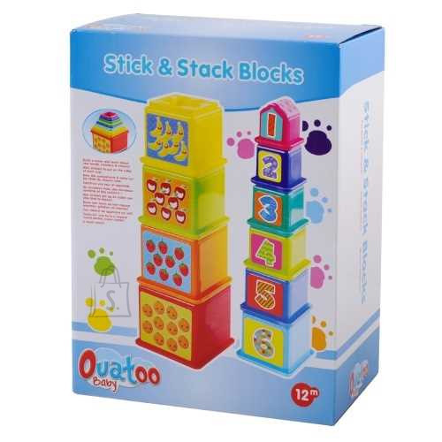 Playgo PLAYGO INFANT&TODDLER klotsid Stick&Stack, 2382