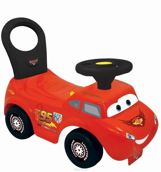Kiddieland jalgadega lükatav auto Light N' Sound Pikne McQueen