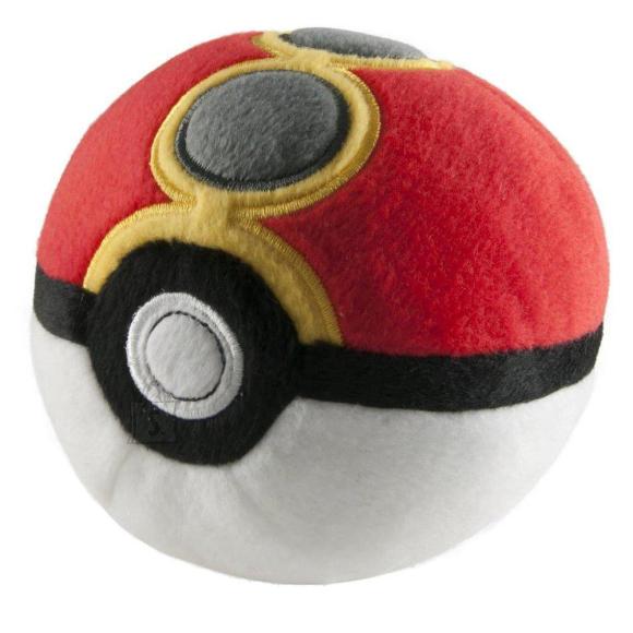 Pokemon pehme pall Poke Ball