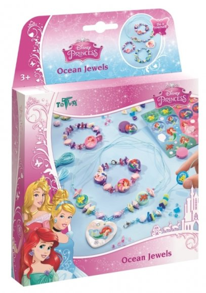 Totum Disney Princess käsitöökomplekt Ocean Jewels