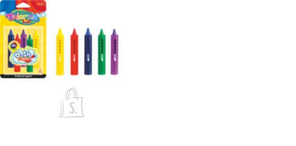 COLORINO KIDS vannikriidid, 5 värvi, 67300PTR