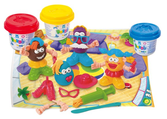 Playgo voolimiskomplekt lõbus perekond
