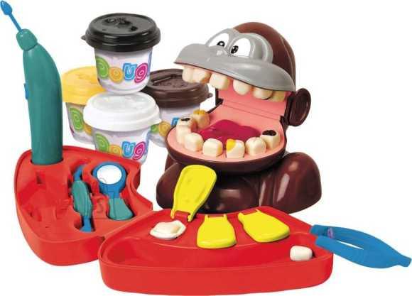 Playgo voolimiskomplekt ahvi hambaarst