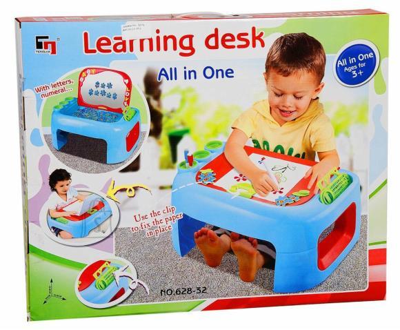 Laste kirjutuslaud/mängukeskus, poistele