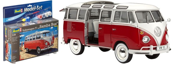 Revell buss VW T1 Samba Bus 1:72