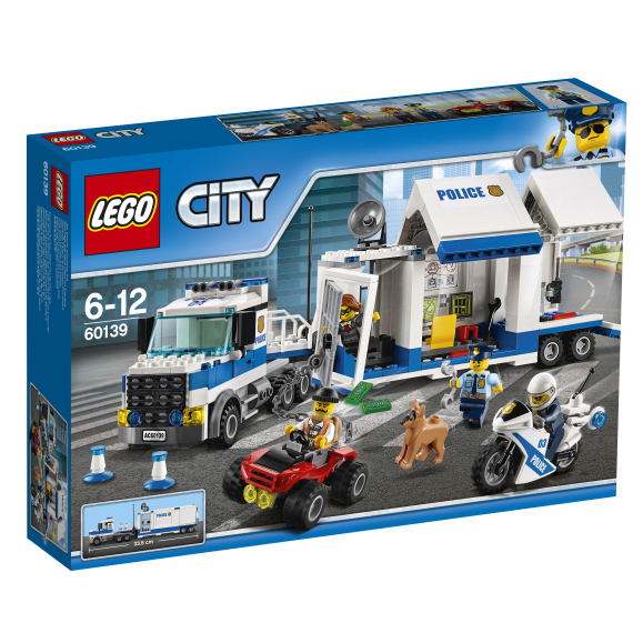 LEGO 60139 City Police mobiilne juhtimiskeskus
