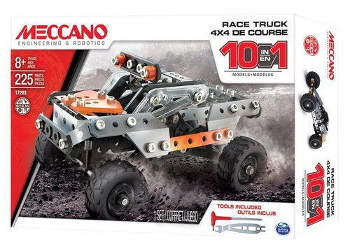 Meccano konstruktor ralliautod 10in1