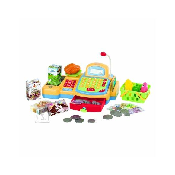 Playgo Make Belive mängu kassaaparaat + lisad, 14 tk